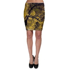 Colorful The Beautiful Of Traditional Art Indonesian Batik Pattern Bodycon Skirt