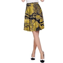 Colorful The Beautiful Of Traditional Art Indonesian Batik Pattern A-Line Skirt