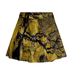 Colorful The Beautiful Of Traditional Art Indonesian Batik Pattern Mini Flare Skirt