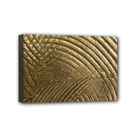 Brushed Gold Mini Canvas 6  X 4