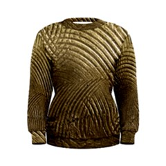 Brushed Gold Women s Sweatshirt