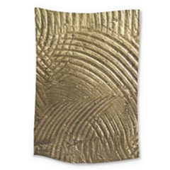 Brushed Gold Large Tapestry