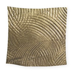 Brushed Gold Square Tapestry (Large)