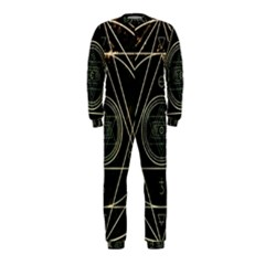 Cult Of Occult Death Detal Hardcore Heavy OnePiece Jumpsuit (Kids)