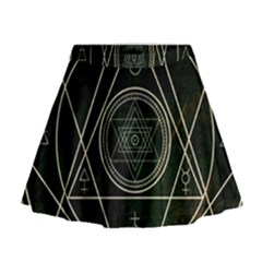 Cult Of Occult Death Detal Hardcore Heavy Mini Flare Skirt