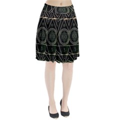 Cult Of Occult Death Detal Hardcore Heavy Pleated Skirt