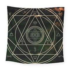 Cult Of Occult Death Detal Hardcore Heavy Square Tapestry (large)
