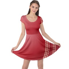 Cricket Ball Cap Sleeve Dresses