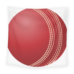 Cricket Ball Square Tapestry (Large)