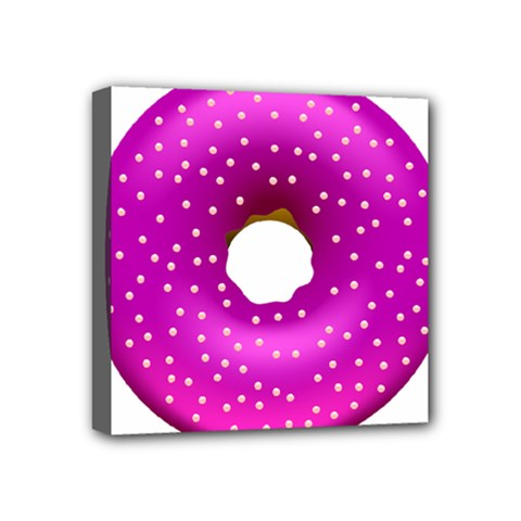 Donut Transparent Clip Art Mini Canvas 4  X 4