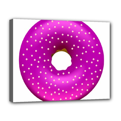 Donut Transparent Clip Art Canvas 14  X 11