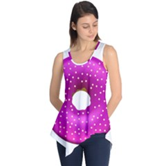 Donut Transparent Clip Art Sleeveless Tunic