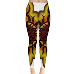 Disturbed Is An American Heavy Metal Band Logo Leggings