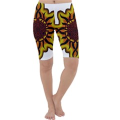 Disturbed Is An American Heavy Metal Band Logo Cropped Leggings