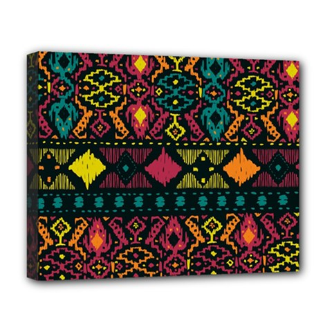 Ethnic Pattern Deluxe Canvas 20  x 16