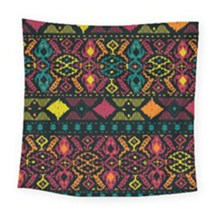 Ethnic Pattern Square Tapestry (Large)