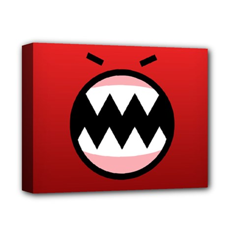 Funny Angry Deluxe Canvas 14  x 11