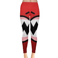Funny Angry Leggings