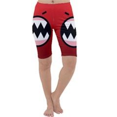 Funny Angry Cropped Leggings