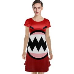 Funny Angry Cap Sleeve Nightdress