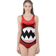 Funny Angry One Piece Swimsuit