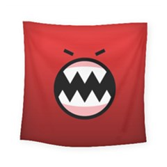 Funny Angry Square Tapestry (Small)
