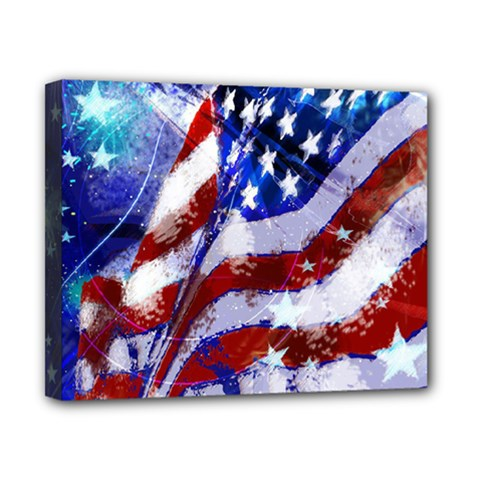 Flag Usa United States Of America Images Independence Day Canvas 10  X 8