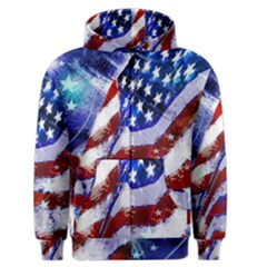 Flag Usa United States Of America Images Independence Day Men s Zipper Hoodie