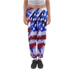 Flag Usa United States Of America Images Independence Day Women s Jogger Sweatpants