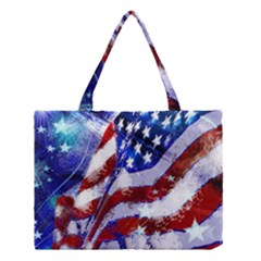 Flag Usa United States Of America Images Independence Day Medium Tote Bag