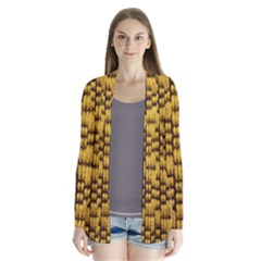 Golden Pattern Fabric Cardigans