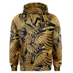 Golden Colorful The Beautiful Of Art Indonesian Batik Pattern Men s Pullover Hoodie