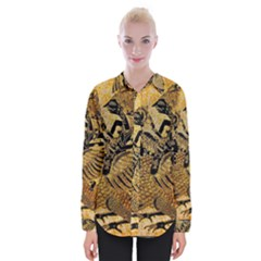 Golden Colorful The Beautiful Of Art Indonesian Batik Pattern Shirts