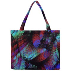 Native Blanket Abstract Digital Art Mini Tote Bag