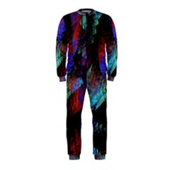 Native Blanket Abstract Digital Art OnePiece Jumpsuit (Kids)