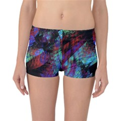 Native Blanket Abstract Digital Art Reversible Bikini Bottoms