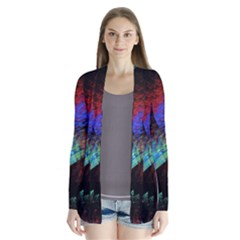 Native Blanket Abstract Digital Art Cardigans