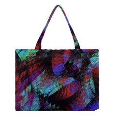 Native Blanket Abstract Digital Art Medium Tote Bag
