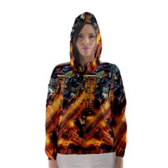 Hdri City Hooded Wind Breaker (Women)
