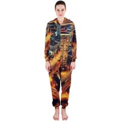Hdri City Hooded Jumpsuit (Ladies)