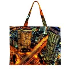 Hdri City Large Tote Bag
