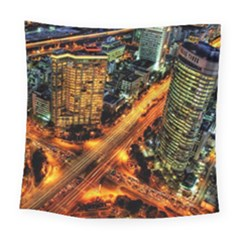 Hdri City Square Tapestry (large)