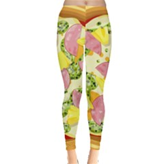 Pizza Clip Art Leggings