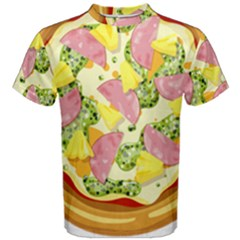 Pizza Clip Art Men s Cotton Tee