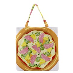 Pizza Clip Art Grocery Tote Bag