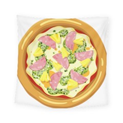 Pizza Clip Art Square Tapestry (small)