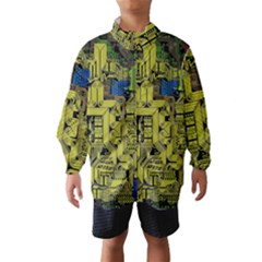 Technology Circuit Board Wind Breaker (Kids)