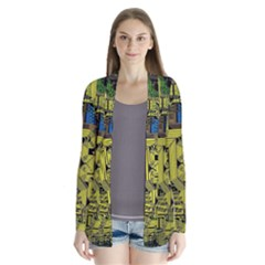 Technology Circuit Board Cardigans