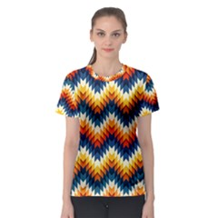 The Amazing Pattern Library Women s Sport Mesh Tee