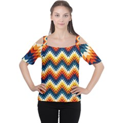 The Amazing Pattern Library Women s Cutout Shoulder Tee